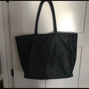 Neiman Marcus Brand Faux Leather Tote - Large